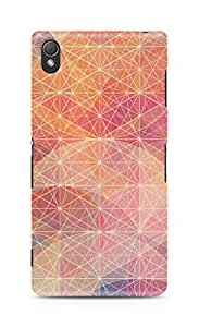 Amez designer printed 3d premium high quality back case cover for Sony Xperia Z3 (Colourful design)