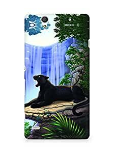 Amez designer printed 3d premium high quality back case cover for Sony Xperia C4 (Panther)