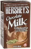 Hersheys 2% Chocolate Milk, 21- 8 Ounce Aseptic Boxes
