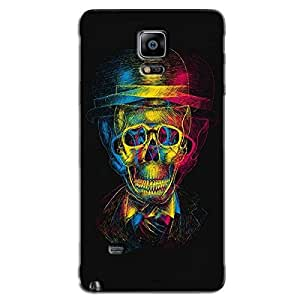 HIGH SKULL BACK COVER FOR SAMSUNG GALAXY NOTE 4