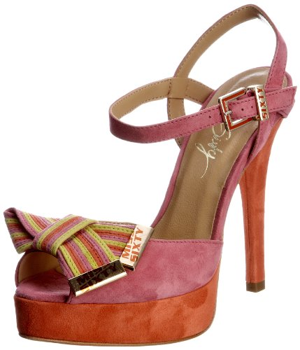 Miss Sixty Women's Olivia Pink/Coral Ankle Strap