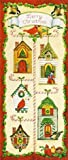 Christmas Birdhouses (Holiday Greeting Cards)