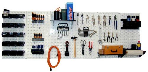Images for Wall Control 30-WRK-800WB Master Workbench Metal Pegboard Tool Organizer