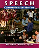 img - for Speech: Communication Matters book / textbook / text book