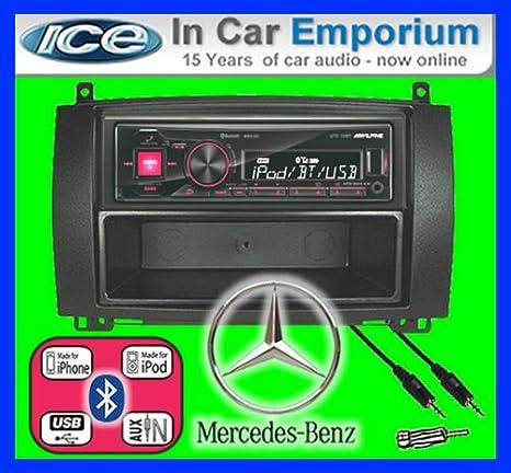 Mercedes Vino autoradio Alpine UTE 72BT mains-libres Bluetooth pour autoradio stéréo