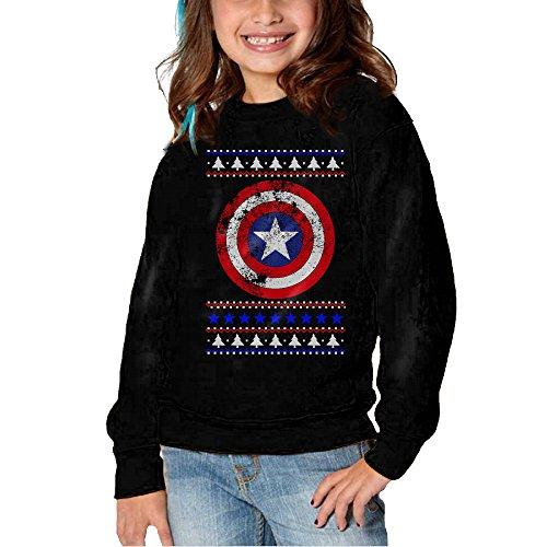 Christmas Captain America Hoodie