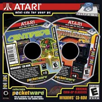 Atari Pocketware Centipede And Battlezone (PC)