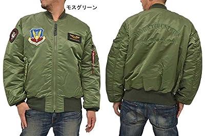 (アルファ インダストリーズ) ALPHA INDUSTRIES INC MA-1 フライトジャケット メンズ ミリタリー ブルゾン 大きいサイズ 1color 3L モスグリーン