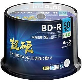 TDK 録画用ブルーレイディスク 超硬 BD-R 25GB