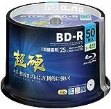 【Amazon.co.jp限定】TDK 録画用ブルーレイディスク 超硬シリーズ BD-R 25GB 1-4倍速 ホワイトワイドプリンタブル 50枚スピンドル ATBRV-25HCPWB50PZ