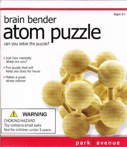 Brain Bender Atom Puzzle - 1