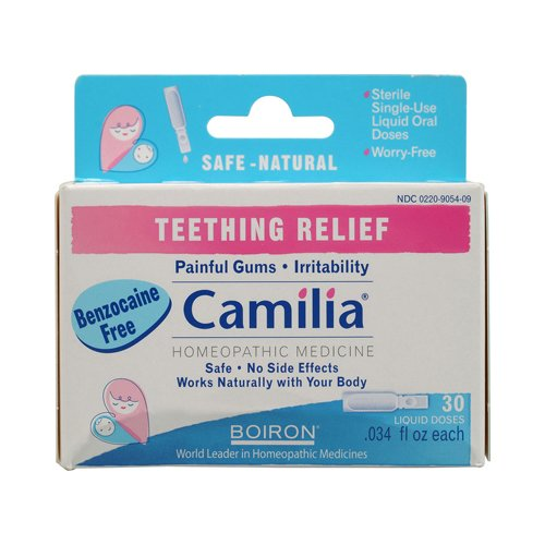 Boiron Camilia Teething Relief 30 Doses back-664048