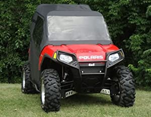 Polaris Ranger RZR Full Cab Enclosure for Hard Windshield by GCL UTV. Combine with Your Exhisting Windshield. POLRZR-FCL Enclosure
