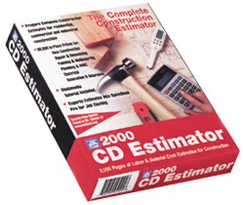 Craftsman Book Co. 1-57218-087-0 2000 Cd Estimator