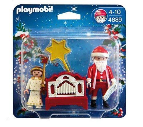 PLAYMOBIL 4889 – Engelchen mit Nikolaus und Leierkasten als Weihnachtsgeschenk