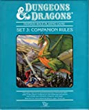 Dungeons and Dragons Set No. 3: Companion Rules [Boxed Set]