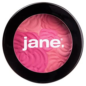 Jane Cosmetics Multi-Colored Cheek Powder, Berry Bouquet, 288 Ounce