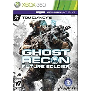 Tom Clancy Ghost Recon Future Soldier XBox 360 Video Game