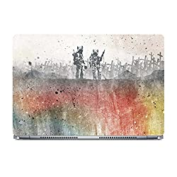 Posterboy War Pigs Laptop Skin (Multicolor)