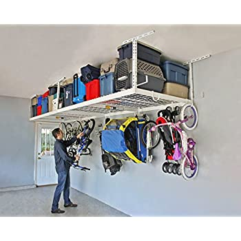SafeRacks 4x8 - 2 Rack Package w/Accessory Hooks 24-45