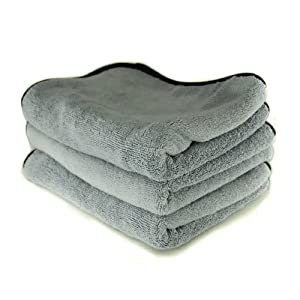 """Chemical Guys (MIC_1024_1) 24"""" x 17"""" Ultra Plush Super Quality Microfiber Towel by Chemical Guys"""