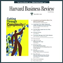 Harvard Business Review, 1-Month Subscription  by  Harvard Business Review Narrated by Todd Mundt