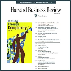 Harvard Business Review, 1-Month Subscription | [ Harvard Business Review]