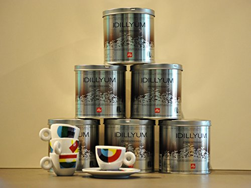 Order Illy Coffee Iperespresso Idillyum - Set 6 cans of 21 capsules each - Illy