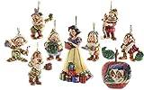 Dwarf 'Ornament Set' JimShore Disney 4008072 seven Disney figure Jim Showa Snow White