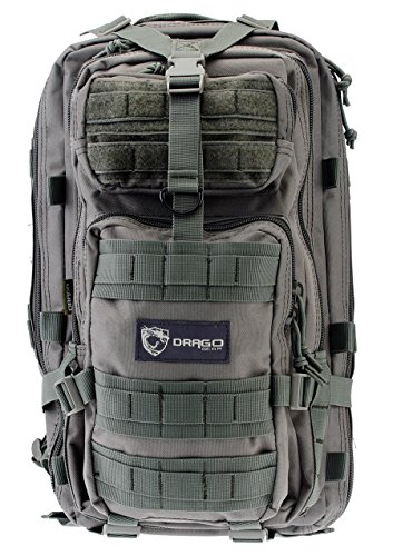 Drago Gear Tracker Backpack, Seal Gray