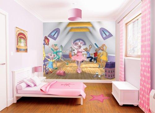 Walltastic-40557-Angelina-Ballerina-Wandbild-Designer-Fototapete