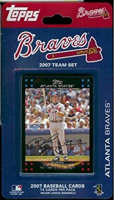 MLB Atlanta Braves Licensed 2007 Topps® Team Sets