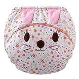 Highdas 2016 pañales de tela para bebés cubierta infante de formación Bragas Calzoncillos de tela Pañales del gato / 80cm