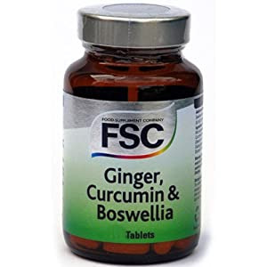 (3 PACK) - FSC - Ginger Curcumin & Boswellia | 120 s | 3 PACK BUNDLE