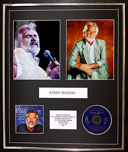 KENNY ROGERS/cd e doppio display foto / edizione ltd / coa/THE VERY BEST OF