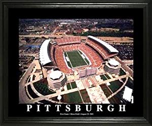 Pittsburgh Steelers - Heinz Field Aerial - Lg - Framed Poster Print by Laminated Visuals