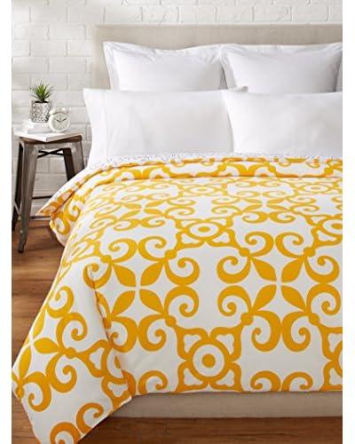 Allem Studio Morocco Duvet, Yellow/Grey, Queen