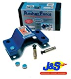 OXFORD OF440 MOTORBIKE MOTORCYCLE ANCHOR FORCE EXTRA STRONG BOLT-DOWN GROUND ANCHOR J&S