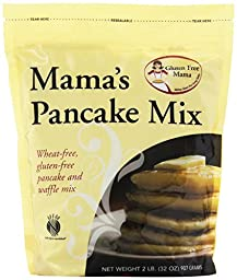 Gluten Free Mama, Mama\'s Pancake Mix and Waffle Mix, 32 Ounce Pouch (Pack of 6)