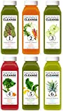 Raw Generation 3 Day Detox and Cleanse Skinny Juice Cleanser - 100% Raw Cold-Pressed Juice - 18 Bottles (3-day Supply)