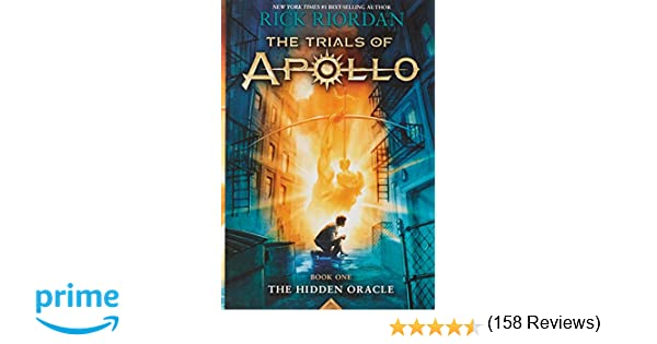 Buy The Trials of Apollo Book One The Hidden Oracle Book Online at ...