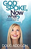 img - for God Spoke, Now What?: Activating Your Prophetic Word book / textbook / text book