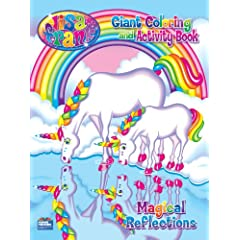 Lisa Frank Magical Reflections Giant Coloring and Activity Book Paperback