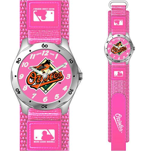 Baltimore Orioles Girls Youth Wrist Watch