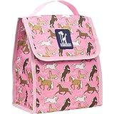 Wildkin Horses in Pink Munch n Lunch Bag