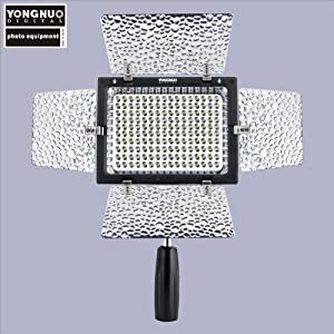 Yongnuo YN 160 II LED Video light w/ Mic and Luminance Control - Sold by Big Bokeh Photo
