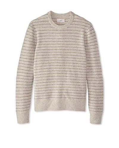 Jack Spade Men's Turner Crew Neck Striped Sweater
