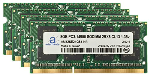 Adamanta-32GB-4x8GB-Apple-Memory-Upgrade-for-Late-2015-iMac-27-DDR3L-1867Mhz-PC3-14900-SODIMM-2Rx8-CL13-135v-RAM