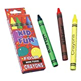4 Pack Crayon Boxes : package of 12