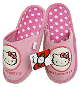 Hello Kitty Plush Slippers - Girls Slippers
